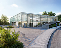 EMBL Architectural Visualization, Heidelberg