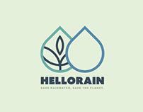 Hello Rain - Logo #2