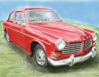 Volvo Amazon - step by step