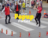 Pringles Pop-up Party