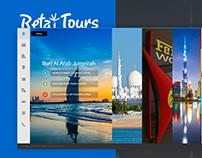 Retaj Tours Website Design