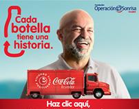 Coca Cola Ecuador - Each bottle has a story