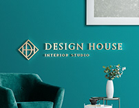 Design House interior studio branding