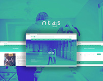NT4S Project Website - UI Design