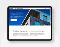 Real Estate - Free Bootstrap 4 Template