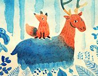 The Fox & The Deer