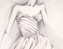Lazaro Bridal Illustration