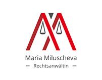 Maria Milusheva logo design