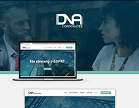 DNA Corporates [logo, branding, webpage]