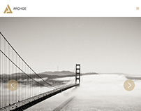 Archide - Creative Portfolio Wordpress Theme