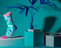 Marylou Faure x Look Mate London Socks