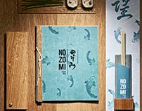 Nozomi Sushi Bar Branding