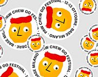 PAW CHEW GO FESTIVAL 2019 • Visual Identity