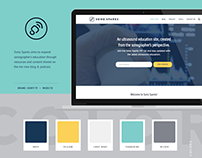 Sono Sparks | Brand Identity & Website Design