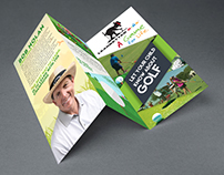 Brochure for a Golf School
