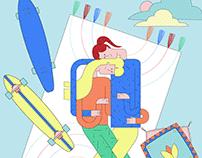 Couples Illustration Kit