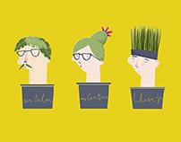 social plants.