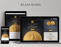 Blanchard Gold Web Design