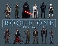 Rogue One Pixel Art