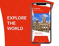 Mobile UI Design: Travel App