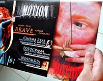 Revista Motion - Projeto Gráfico e Layout de Site
