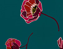 Estampa Floral Macro