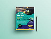 Car show flyer design