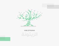 HSB Zitouna - Logo Identity
