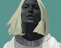 Portrait in Illustrator