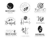 Free Botanical Logo Set