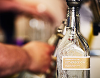 Bottling with Letherbee Distillers