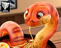 Snake - Danger Noodles