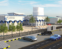Saudi Electricity Company Exterior Design