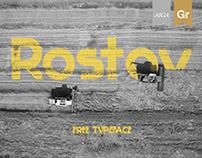 Rostov - Free Typeface