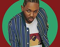 Kendrick Lamar Smudge Painting