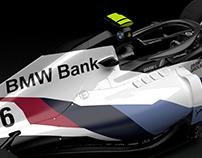 BMW F1 2018 Concept CAD Livery