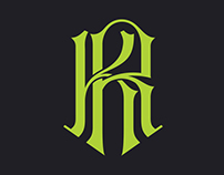 Monogram logo & personal branding
