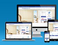 Premium Blinds | Web Design
