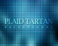 20 Plaid Tartan Abstract Backgrounds - $3