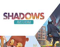 """Shadows: Amsterdam"" board game"