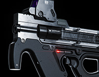 Superlight Compression SMG
