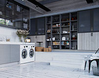 Todeschini - Laundry and Pantry | House 05