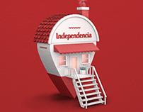 Independencia - Aquí