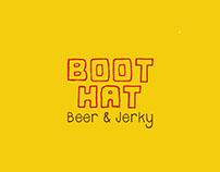 Boot Hat Beer & Jerky