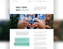 Web Design // Holistic Nutritionist Website