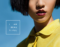 I AM BEAUTIFUL | Identity + Lookbook