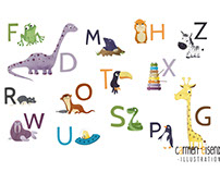 ABC Poster - with cute animals