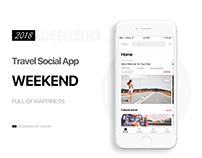Travel Social App UI Kit