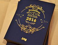 Bonne année 2016 par l'agence Btg !