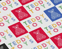 TEDDY TOYS. Logo and guideline
